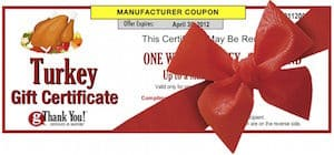 Best employee turkey gift - gThankYou! Turkey Gift Certificates and Vouchers