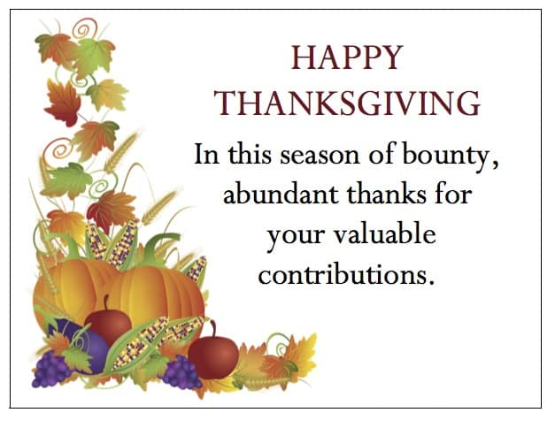 harvestfields-2016 gthankyou thanksgiving thank you cards for employees