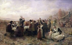 America's oldest tradition – Sharing a Thanksgiving turkey gift