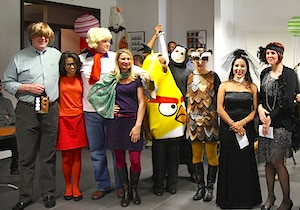 Halloween team building - have fun in your workplace!