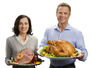 Share your workplace gratitude with Turkey or Ham Gifts for Christmas. The gift everyone will appreciate!