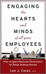 "Employee engagement books: ""Engaging the Hearts and Minds of all your Employees"""