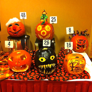 Halloween contest ideas - pumpkin carving!