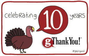 gThankYou: delighting employees certificates of gratitude for 10 years!