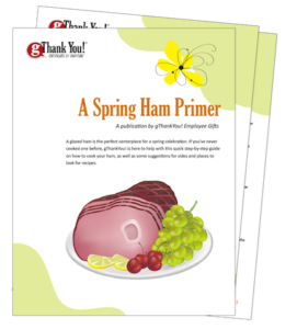 Redeeming your gThankYou! Ham Gift Certificate is easy! Download our Free Ham Cookbook too!