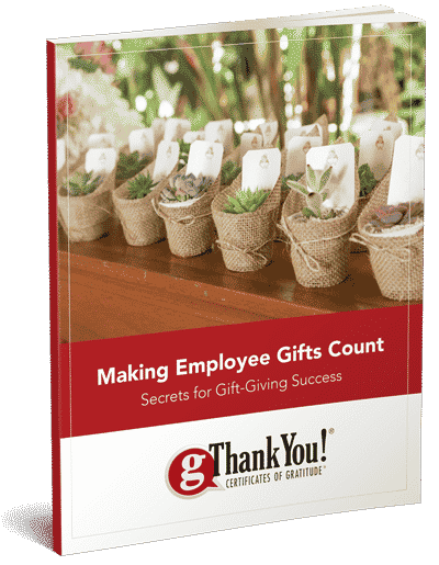 "Download your FREE copy of gThankYou's ""Making Employee Gifts Count, Secrets to Gift-Giving Success""!"