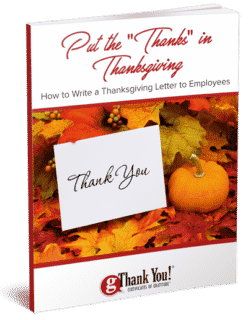"Download free ebook: ""Put the 'Thanks' in Thanksgiving"""