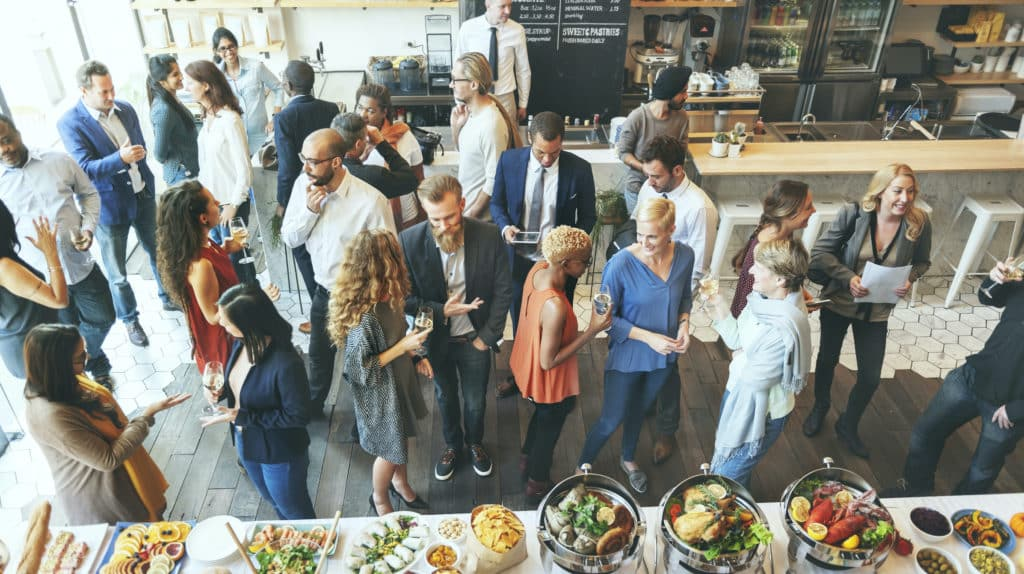 Celebrate your workplace with a thoughtful catered party