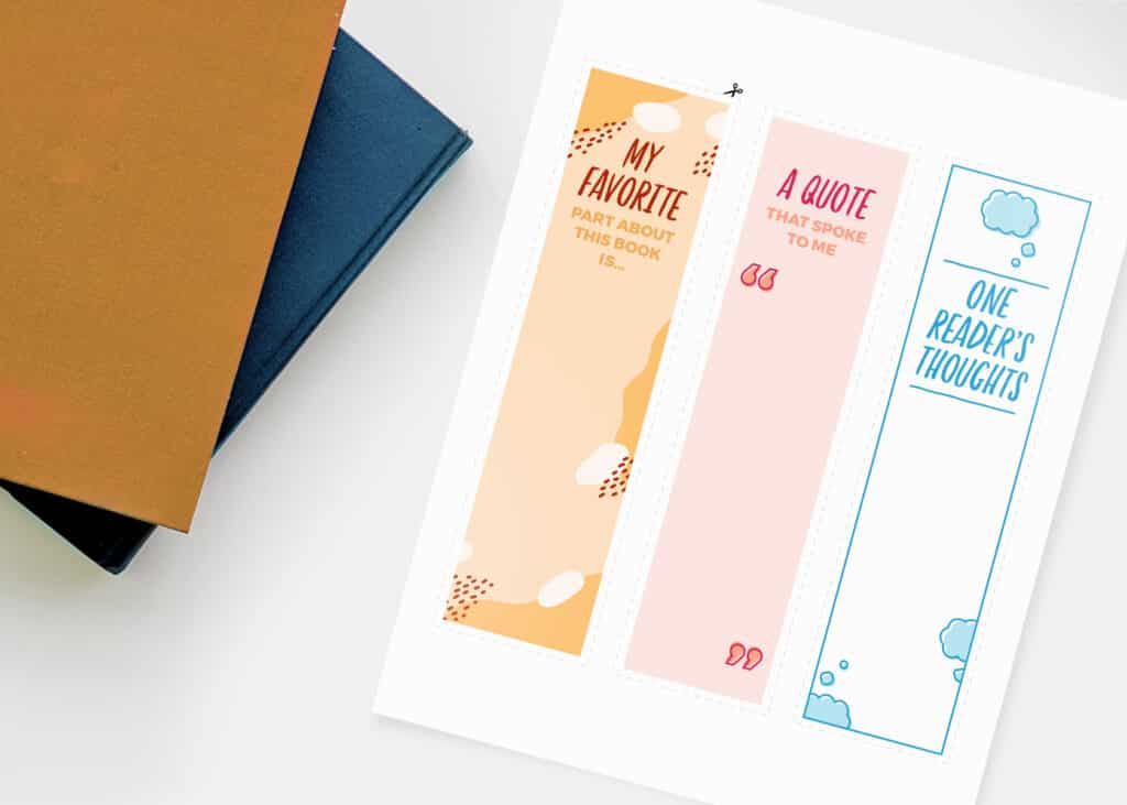 Printable Bookmarks to share with colleagues