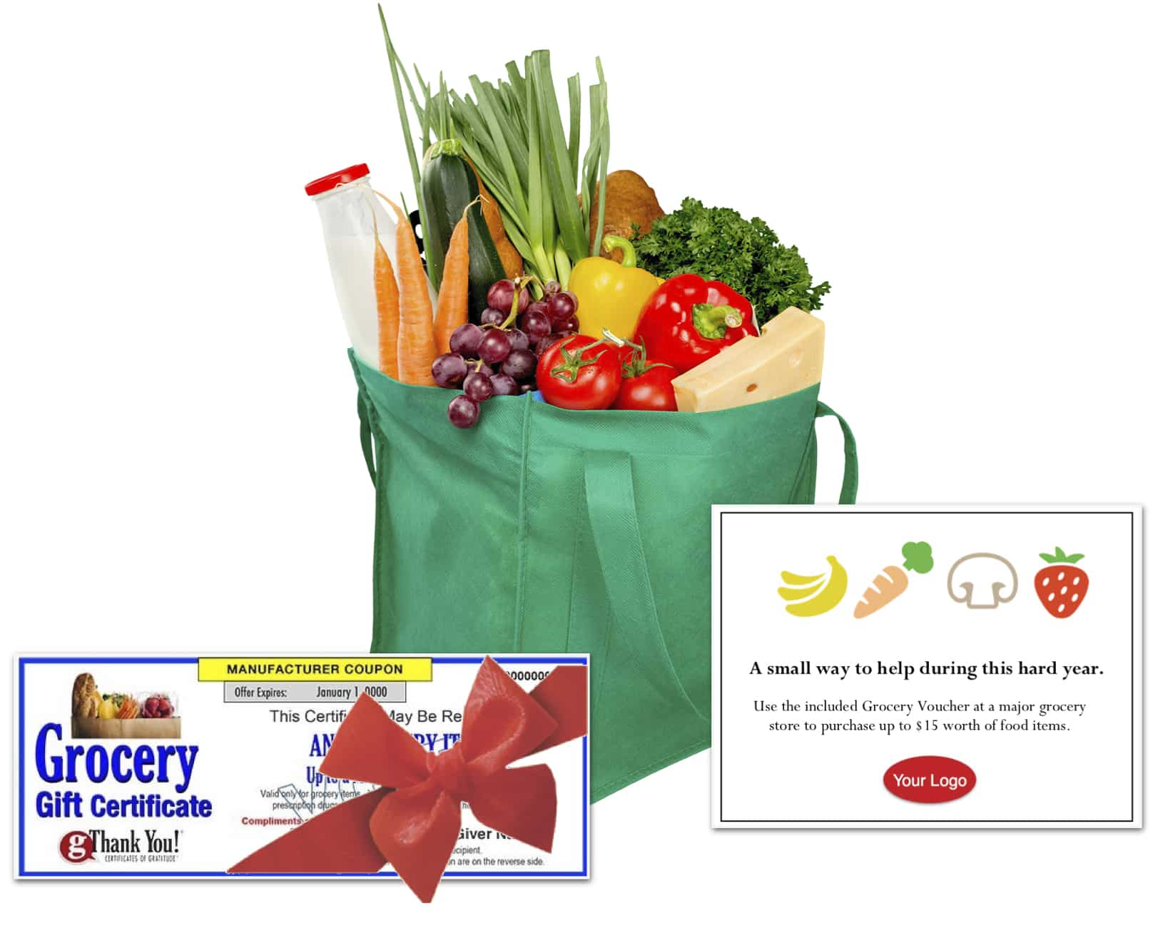 Give the Gift of Groceries with gThankYou Grocery Gift Certificates