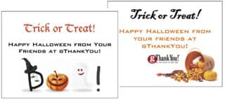 Halloween Enclosure Cards to delight employees!